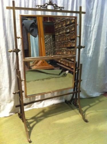 Ancienne table présentoir