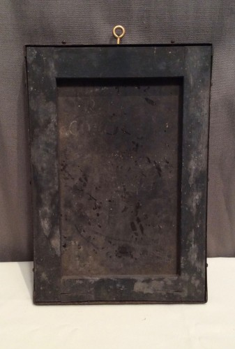 Ancienne plaque de métier.