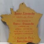 Ancien panneau publicitaire.