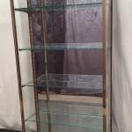 Ancienne vitrine de magasin verticale (réservé DM)