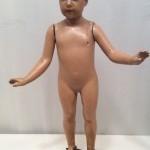 Ancien mannequin d'enfant.